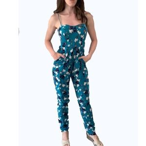 Material Girl Patterned Jumpsuit